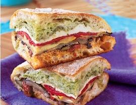 02 - Mediterranean Pressed Picnic Sandwich lhereld