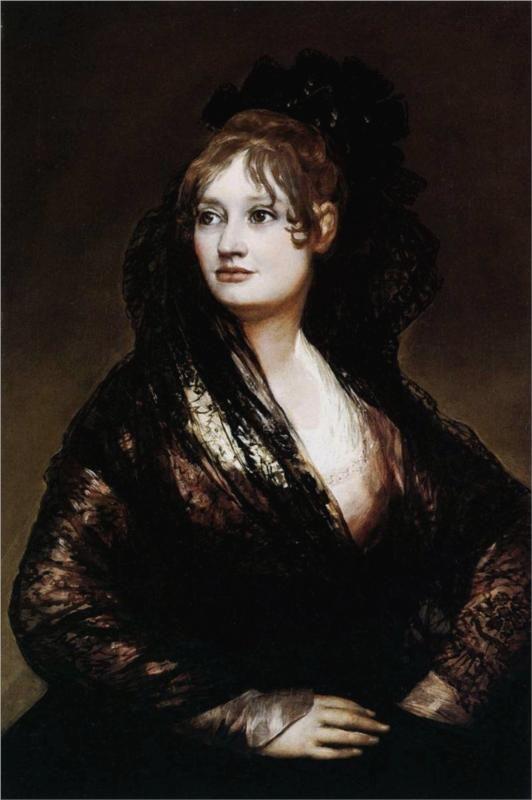 Dona Isabel de Porcel - Francisco de Goya.